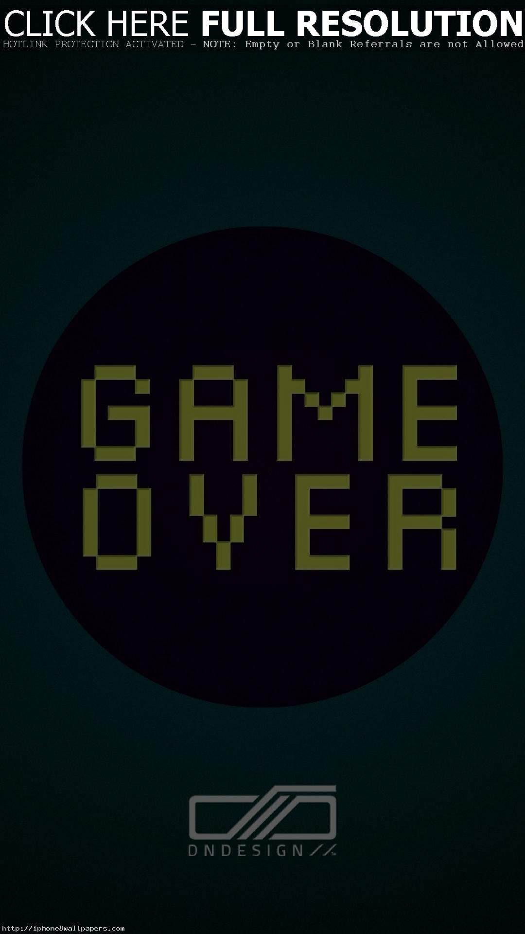 Game Over Wallpaper  71  pictures  1920x1080 Game Over
