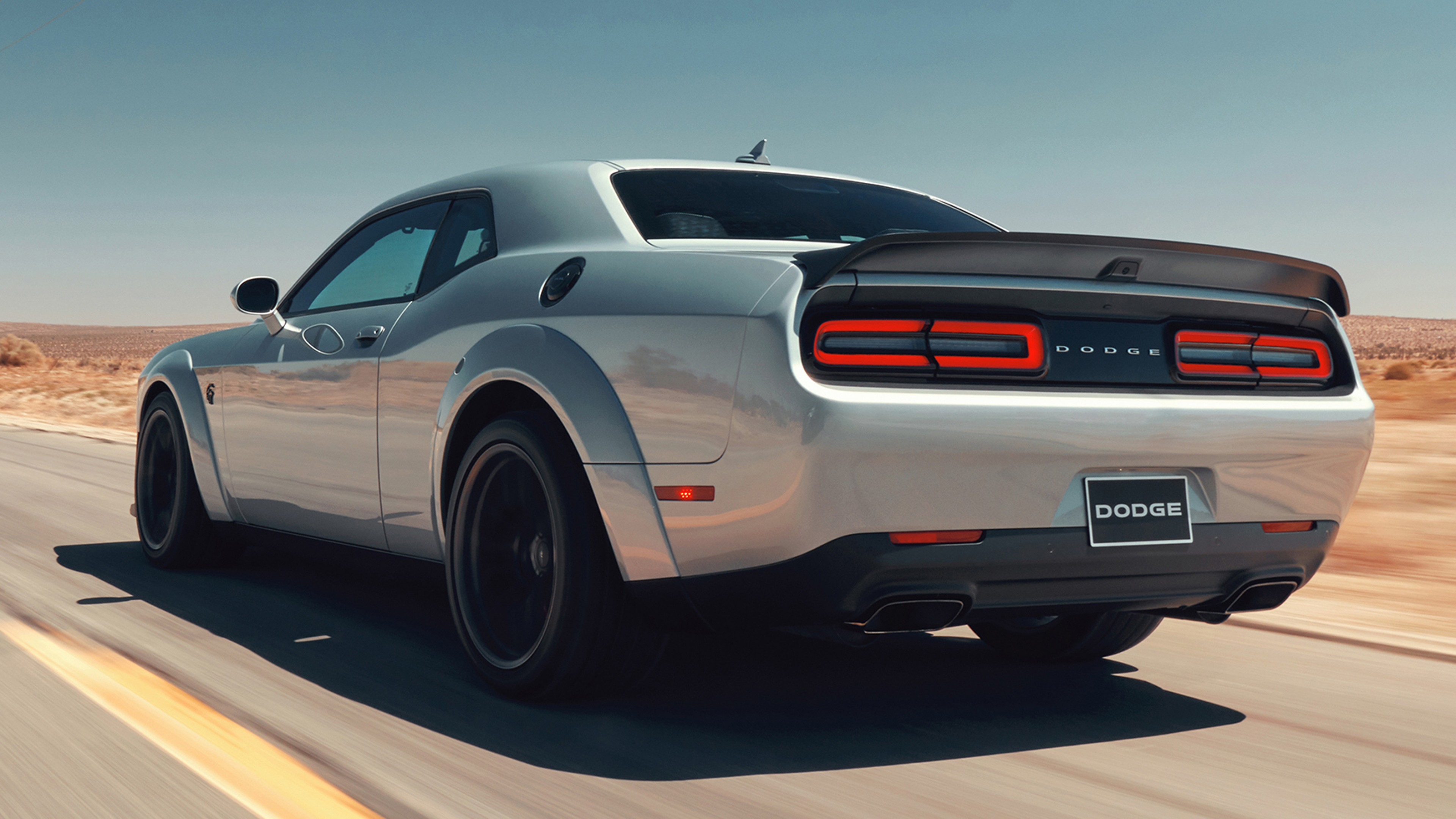 Wallpaper Dodge Challenger Srt Hellcat 2019 Cars 4k