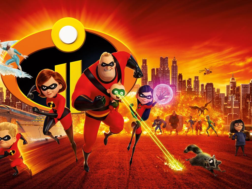 Desktop Wallpaper 2018 Animation Movie Superheroes