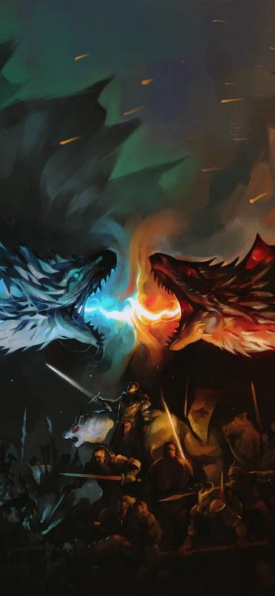 Download 1125x2436 wallpaper game of thrones, tv series ...