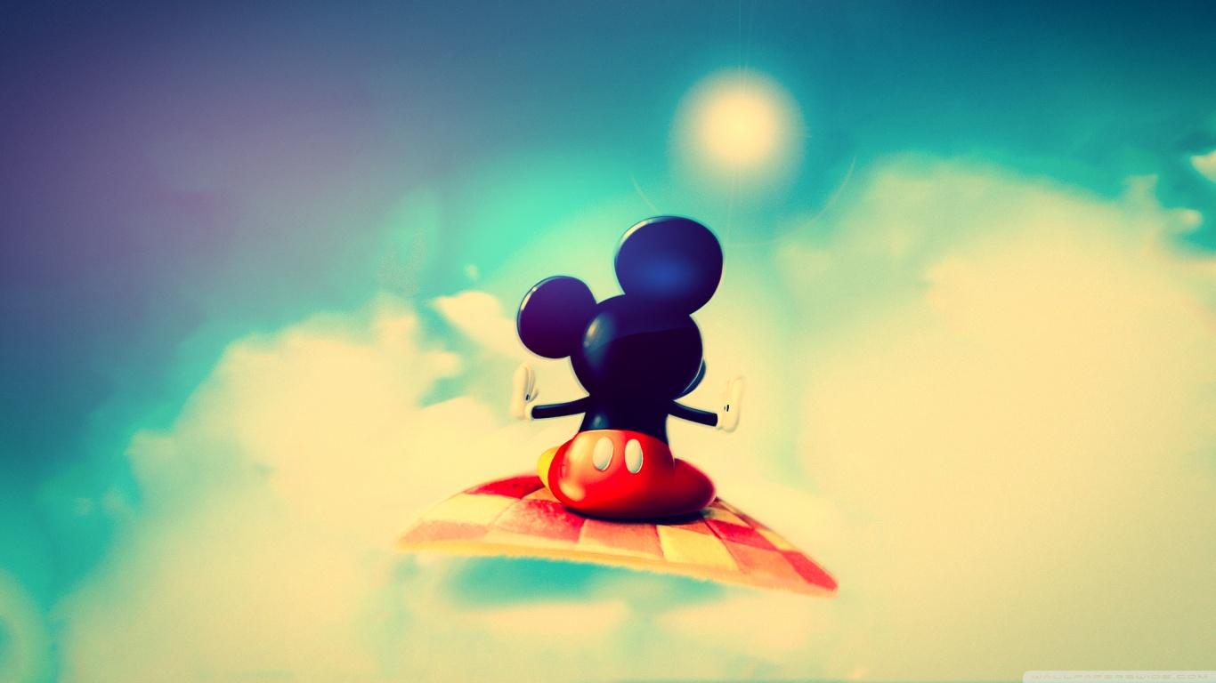 Desktop Old Mouse Mickey Wallpaper