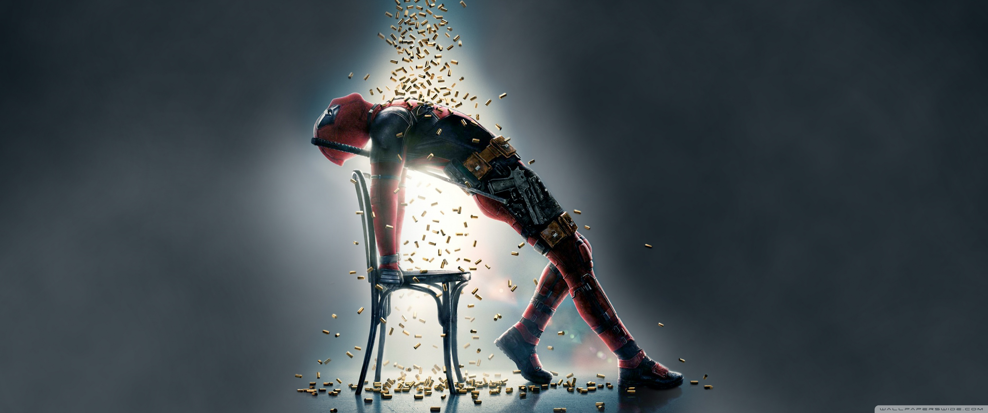 Deadpool 2 Bullets        4K HD Desktop Wallpaper for 4K Ultra HD TV     UltraWide
