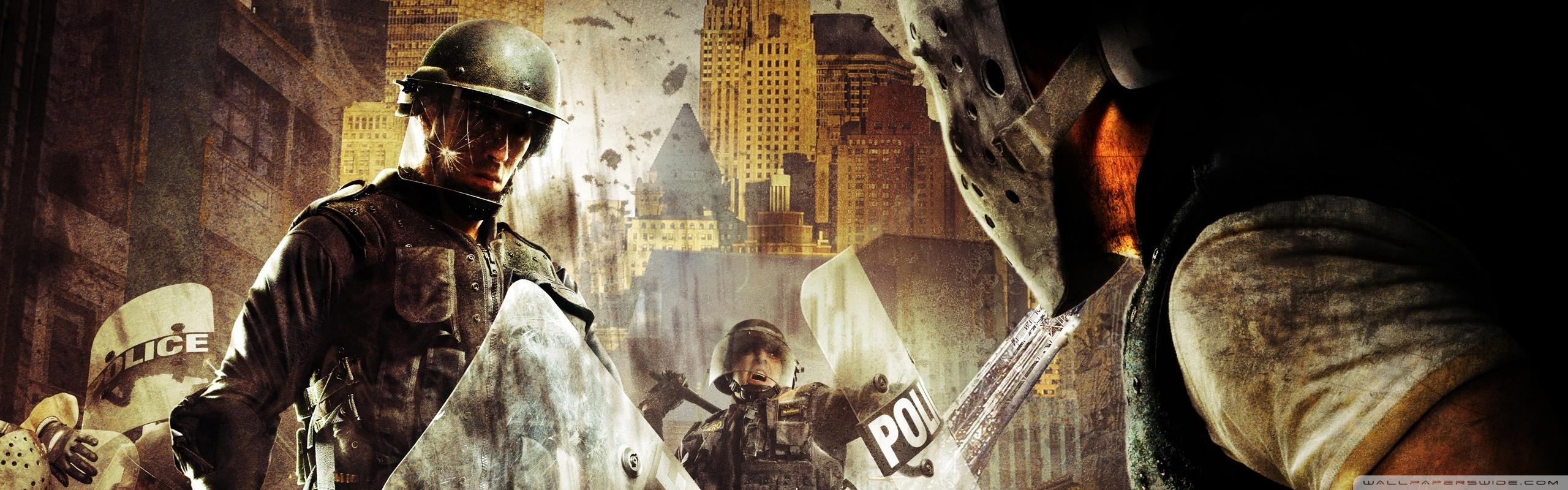 Chaos Riot Urban Response Wallpaper