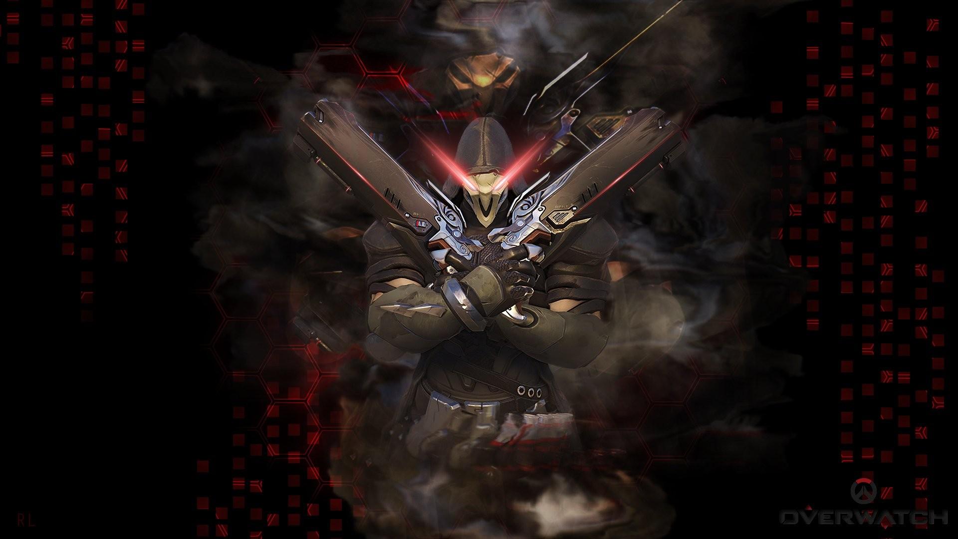 Iphone Reaper Overwatch Wallpaper Hd