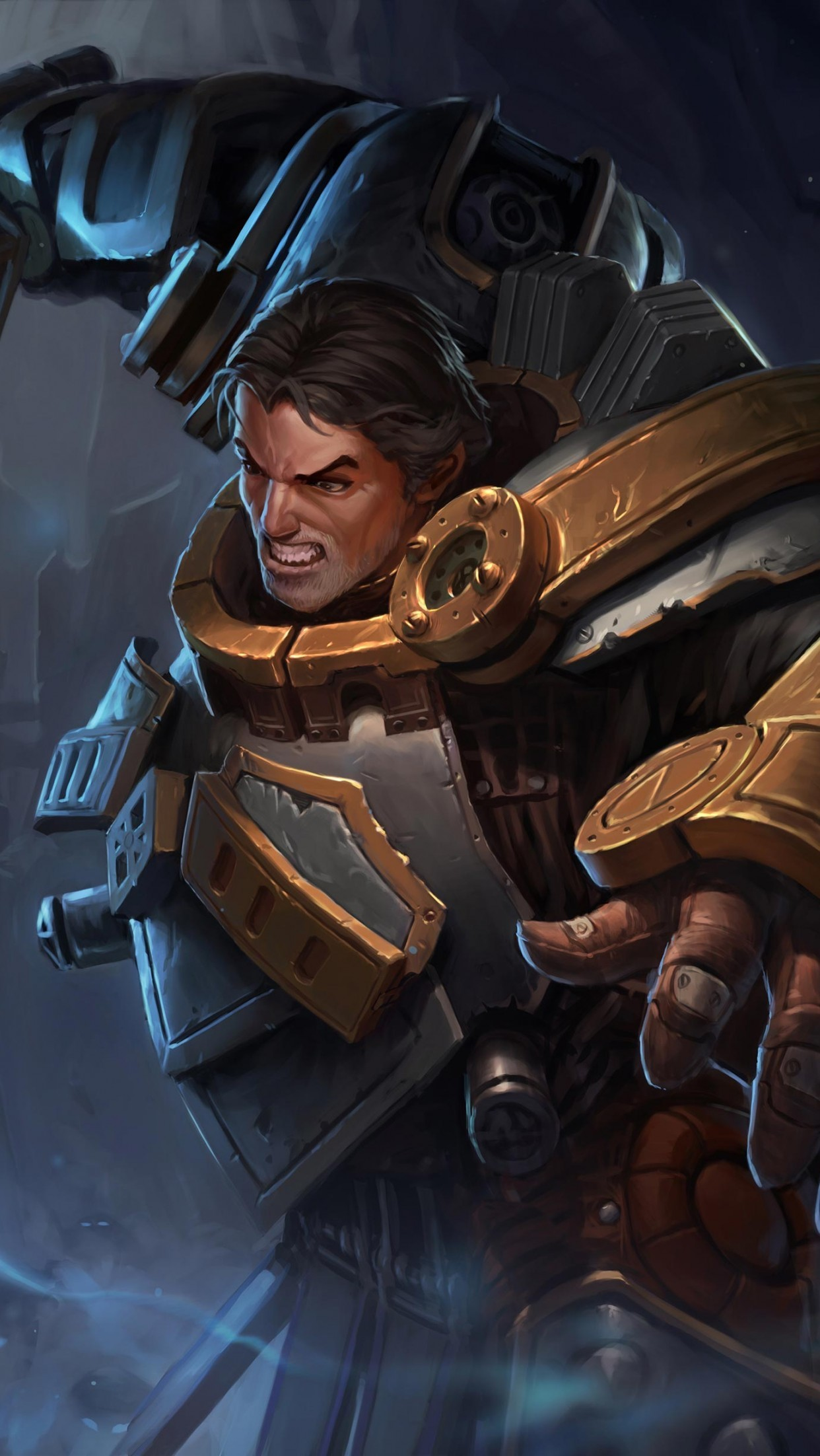 steel legion garen - HD 1242×2204