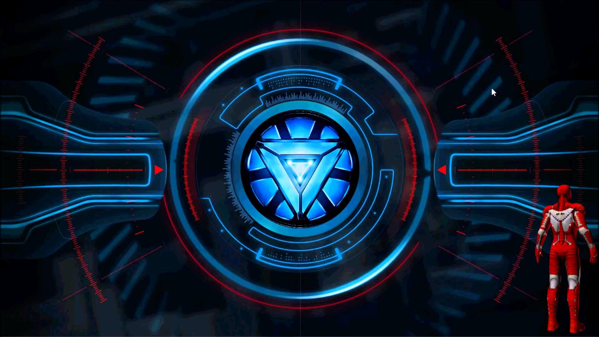 Infinity War Iron Man Arc Reactor Wallpaper