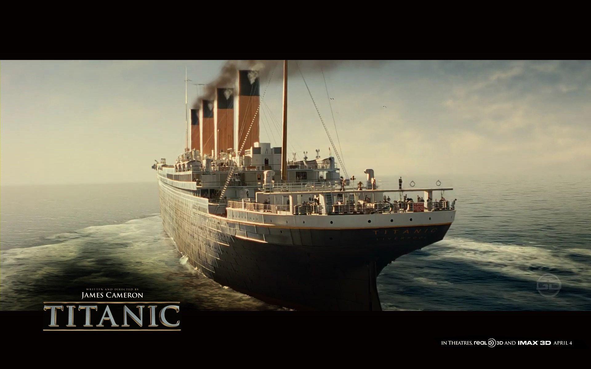 Titanic Wreck Wallpaper