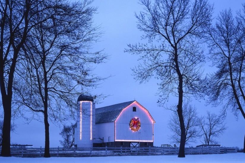 Christmas Lights Painting