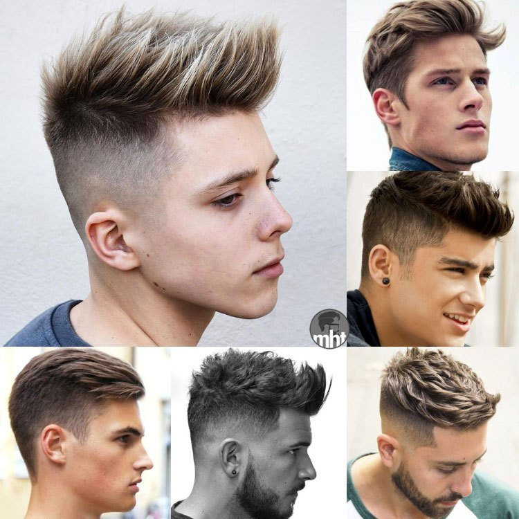 New 35 Hairstyles For Teenage Guys 2019 Guide Ideas With Pictures