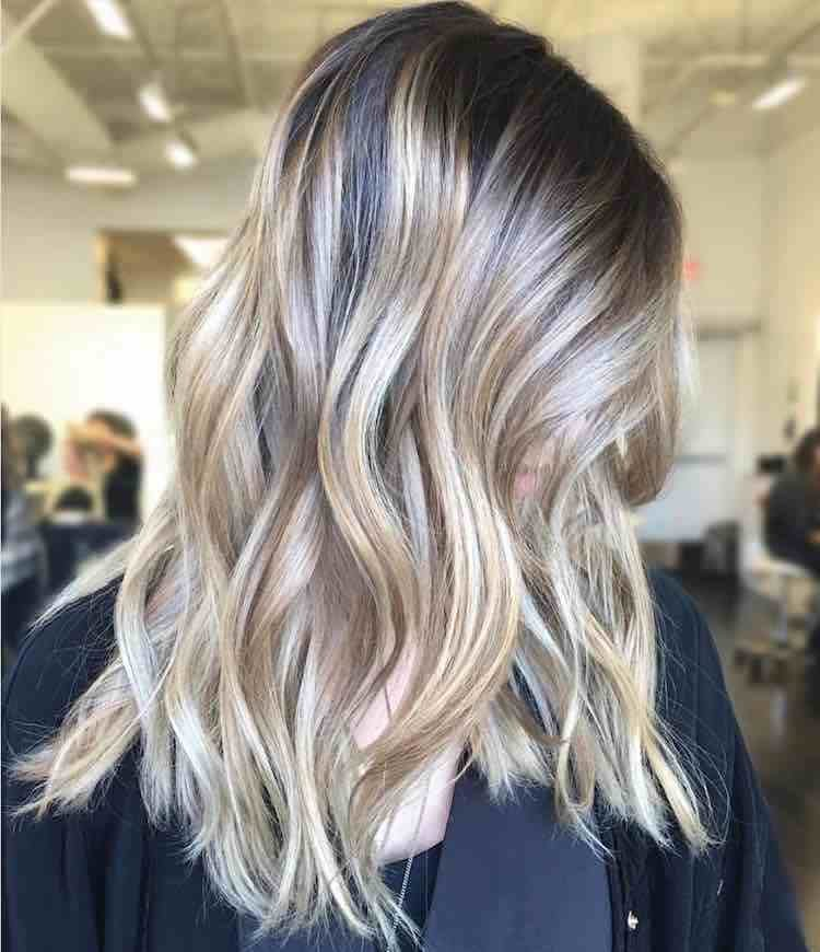 New Hot New Color Trend Shadow Hair Highlights Ideas With Pictures
