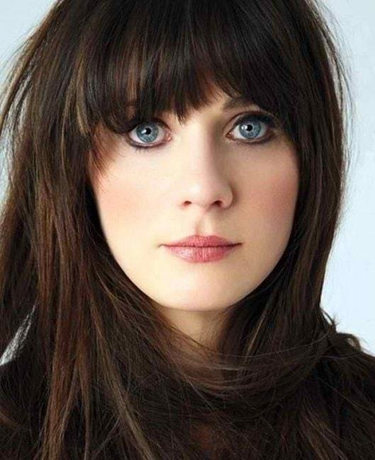 New Best Hair Color For Blue Eyes – Red Hair Brunette Fair Ideas With Pictures