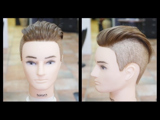 New Men S Undercut Haircut Step By Step Tutorial Thesalonguy Ideas With Pictures
