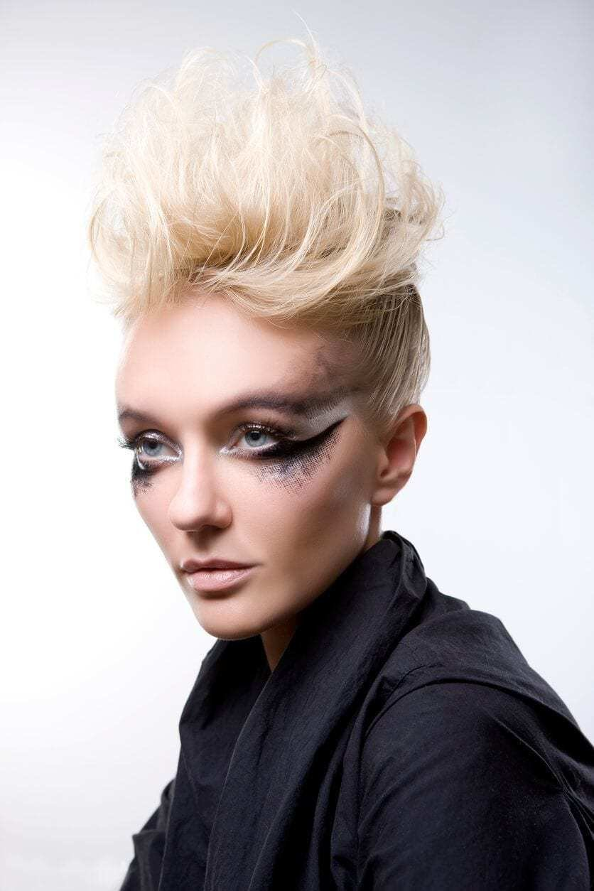 New 8 Fashionable Mohawk Hairstyles For Women From Haute To Head Turning Ideas With Pictures