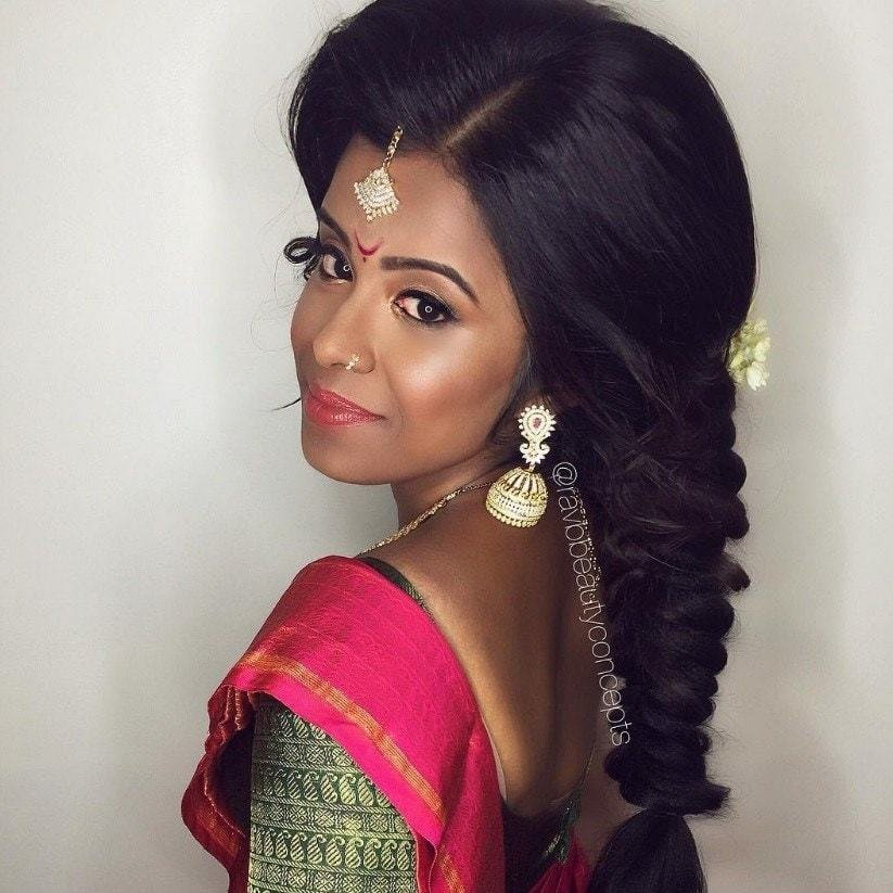 New 17 Of The Best Indian Wedding Hairstyles For Your Big Day All Things Hair Uk Ideas With Pictures
