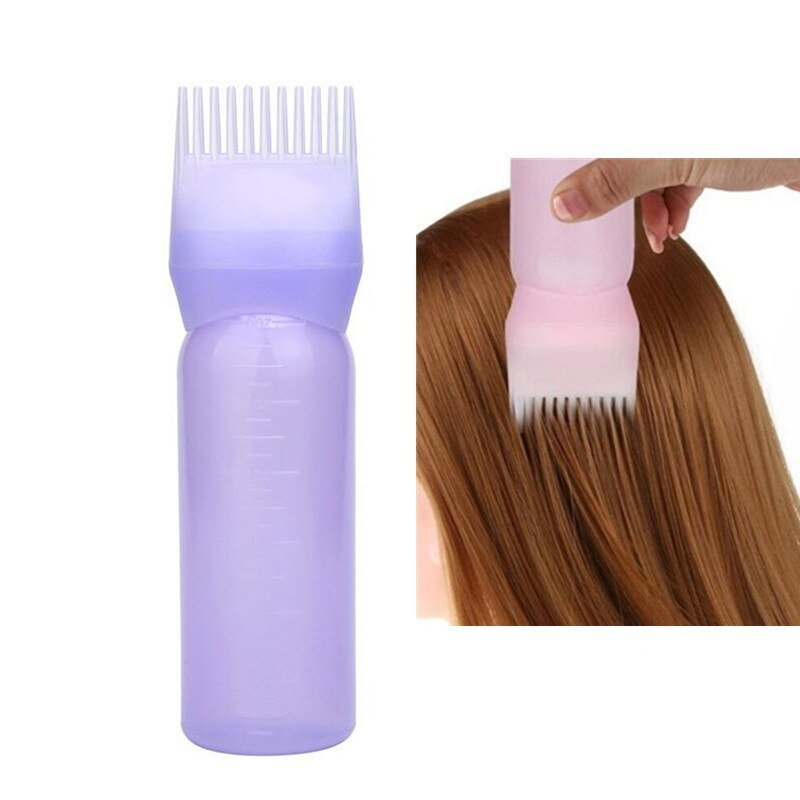 New 6Pcs Professional Hair Color Comb Empty Hair Dye Bottle Ideas With Pictures