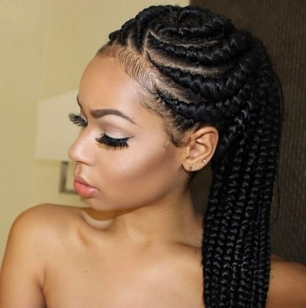 New Cornrow Hairstyles Different Cornrow Braid Styles Ideas With Pictures