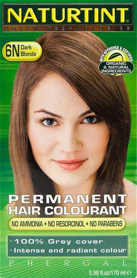 New Naturtint Permanent Ammonia Free Hair Color 6N Dark Blonde Goodness Me Ideas With Pictures