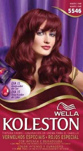 New Wella Koleston Hair Dye Kit 55 46 Exotic Red Souq Uae Ideas With Pictures