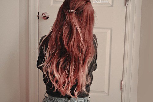 New Ombre Hair Tumblr Discovered By Amyo On We Heart It Ideas With Pictures