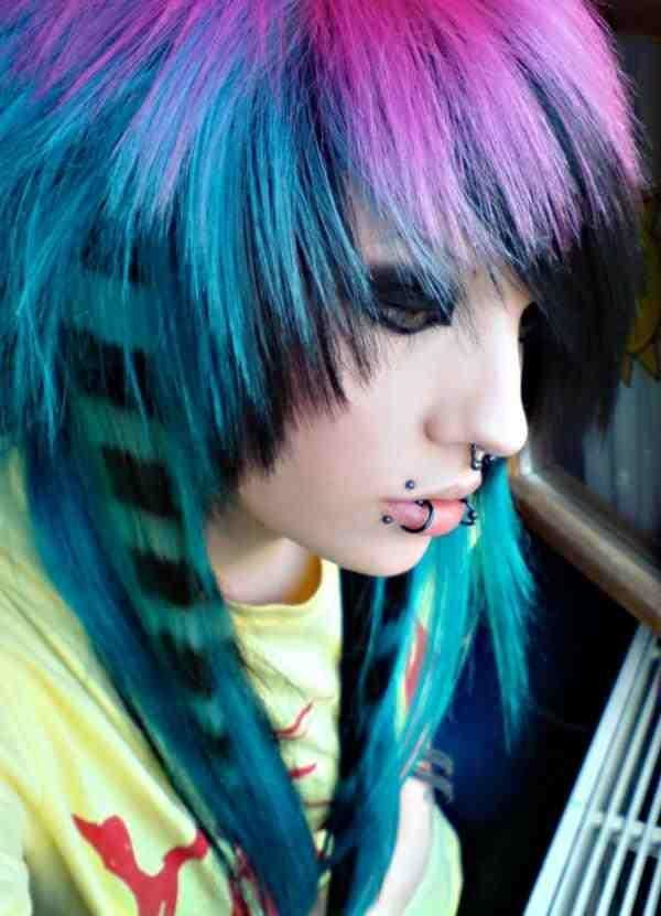 New Short Hairstyles Short Scene Colorful Hairstyles 2014 Ideas With Pictures