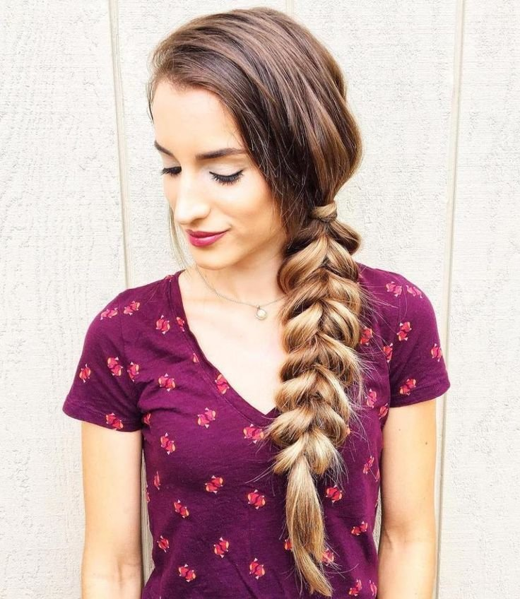 New Best 25 Side Braids Ideas On Pinterest Easy Side Braid Ideas With Pictures