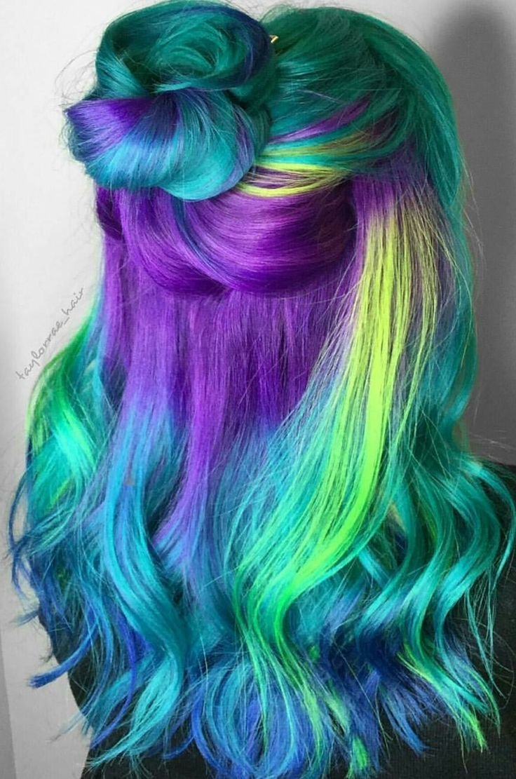 New 1568 Best Colorful Hair Images On Pinterest Colourful Ideas With Pictures