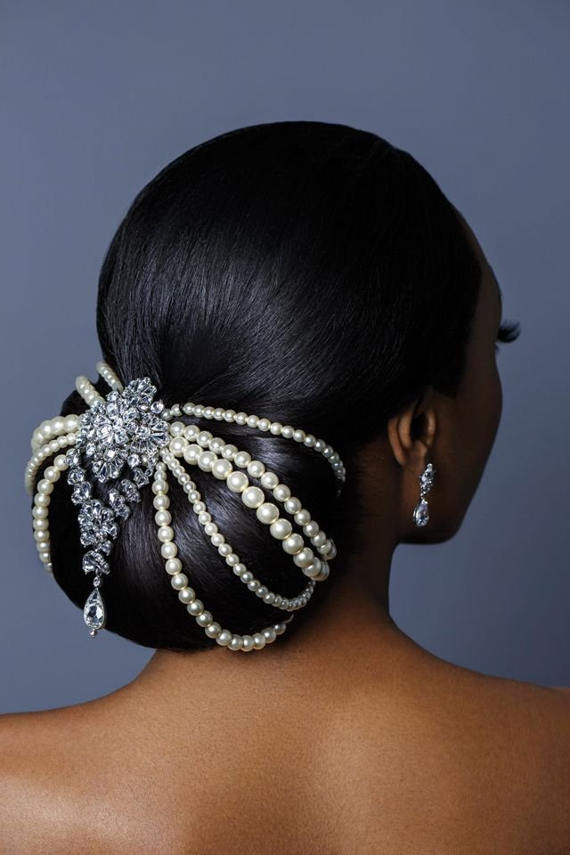 New Best 25 Black Wedding Hairstyles Ideas On Pinterest Black Hair Wedding Styles Wedding Updo Ideas With Pictures