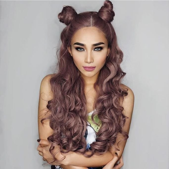 New Best 25 Two Buns Ideas On Pinterest Two Buns Hairstyle Ideas With Pictures
