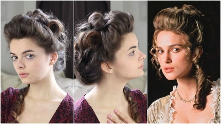 New Best 25 Victorian Hairstyles Ideas On Pinterest Victorian Hair Short Hair Prom Updos And Ideas With Pictures