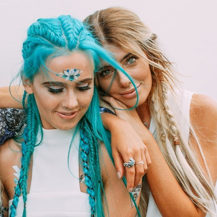 New Best 25 Rave Hair Ideas On Pinterest Music Festival Hair Festival Hair And Festival Makeup Ideas With Pictures