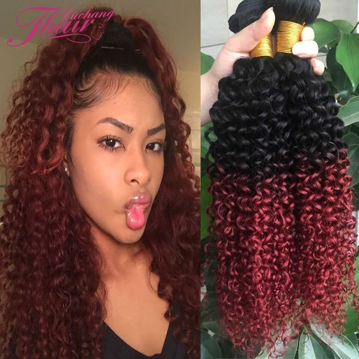 New Best 25 Red Weave Ideas On Pinterest Red Sew In Curly Ideas With Pictures