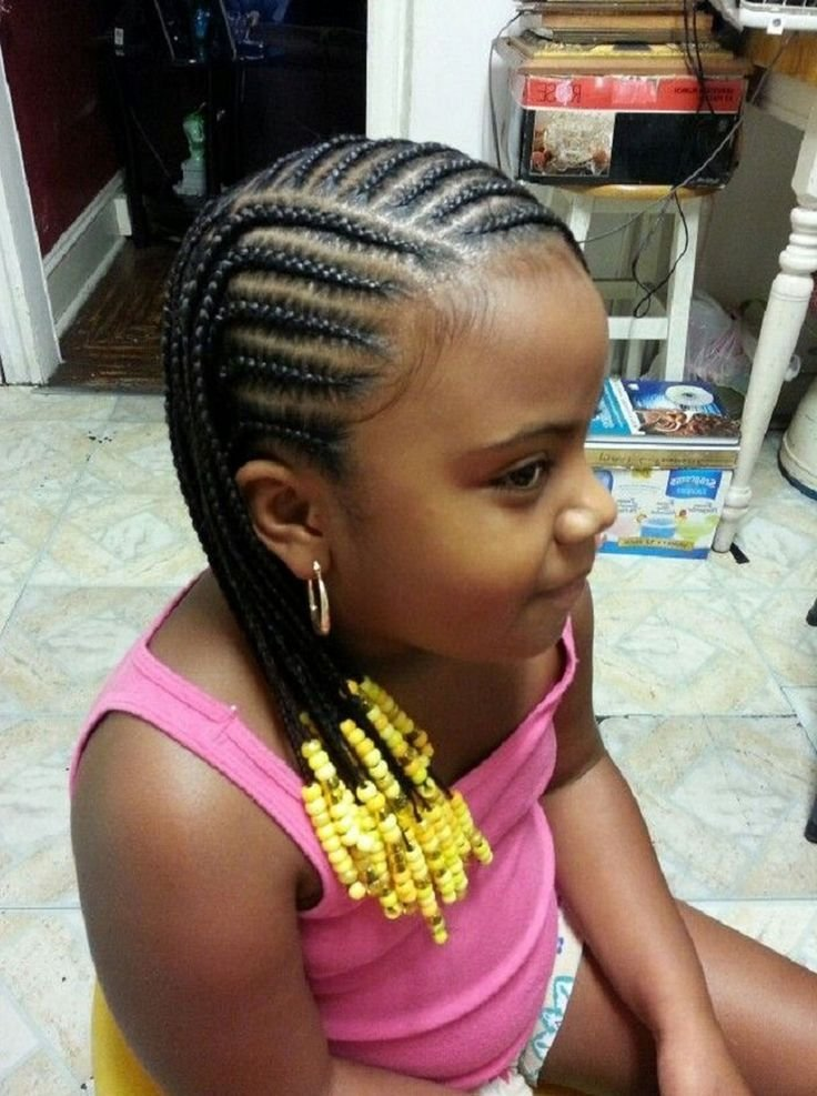 New Little Girl Natural Hairstyles Cornrow Awesome Little Ideas With Pictures