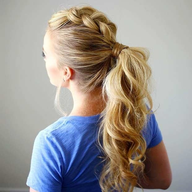 New Best 25 Mohawk Ponytail Ideas On Pinterest Gym Ideas With Pictures