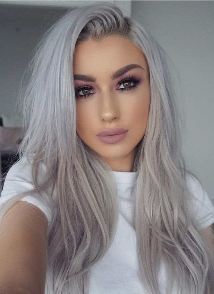 New 13 Grey Hair Color Ideas To Try Sue S Platinum Hair Grey Blonde Hair Grey Hair Ideas With Pictures