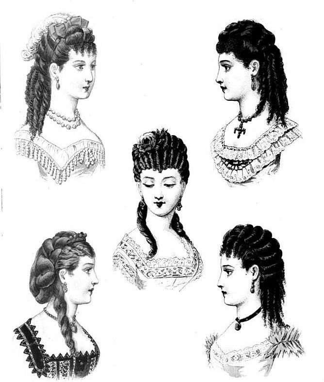 New 84 Best 19Th Century Hair Images On Pinterest Historical Ideas With Pictures