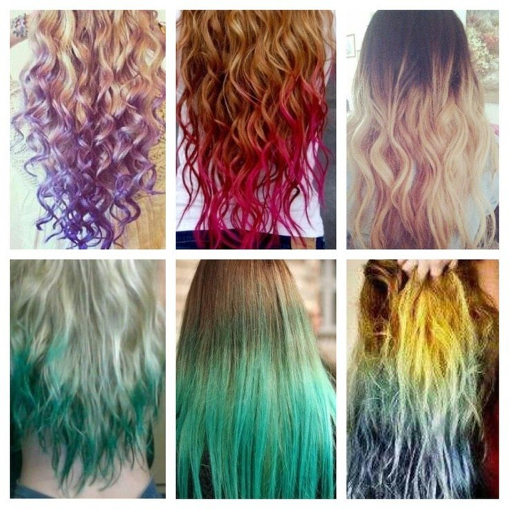 New Different Colored Hair Hair Dyed Hair Hair Styles Hair Ideas With Pictures