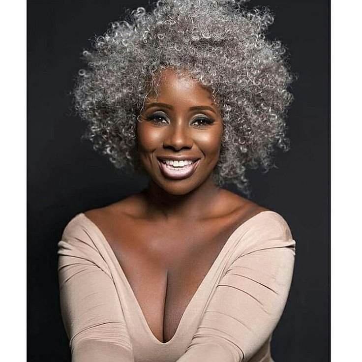 New 35 Best Gorgeous Gray Natural Hair Images On Pinterest Grey Hair Natural Hair And Going Gray Ideas With Pictures