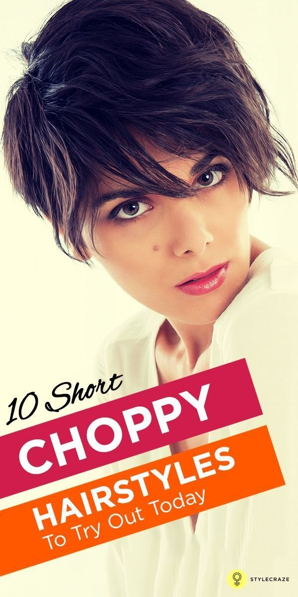 New 20 Short Choppy Hairstyles To Try Out Today Hairstyles For Women Hair Styles Choppy Hair Ideas With Pictures