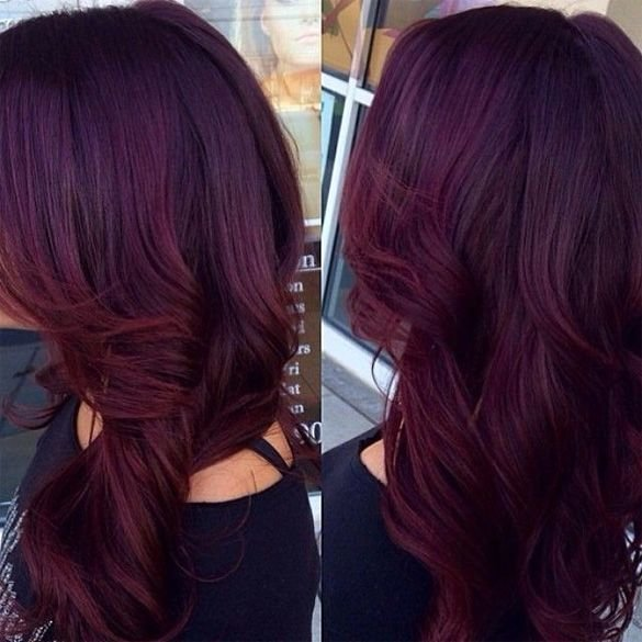 New If You've Always Wanted That Burgundy Hair Color But Ideas With Pictures