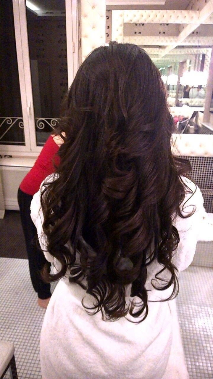New Hottest Down Wedding Hairstyles With Big Curls By Janita Ideas With Pictures