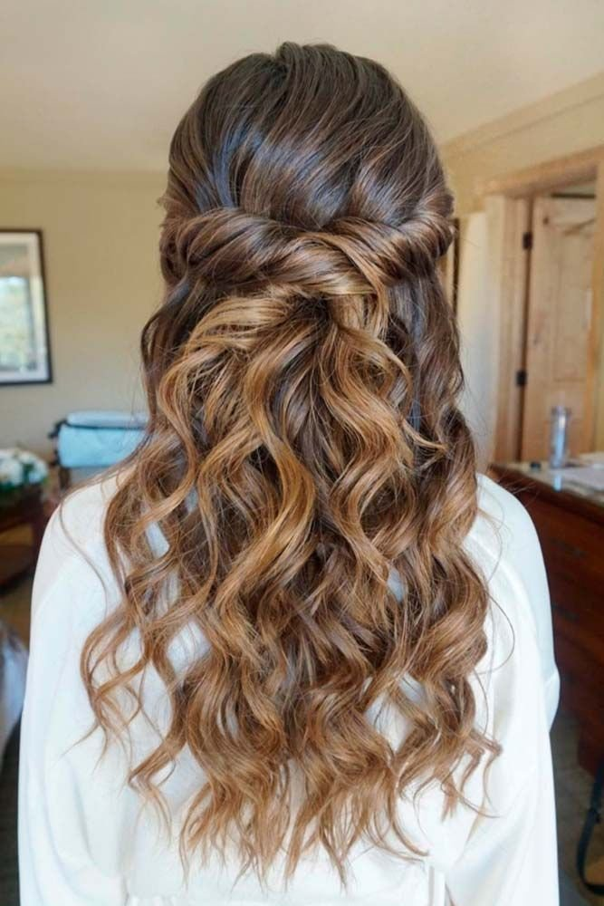 New 30 Chic Half Up Half Down Bridesmaid Hairstyles Ideas With Pictures