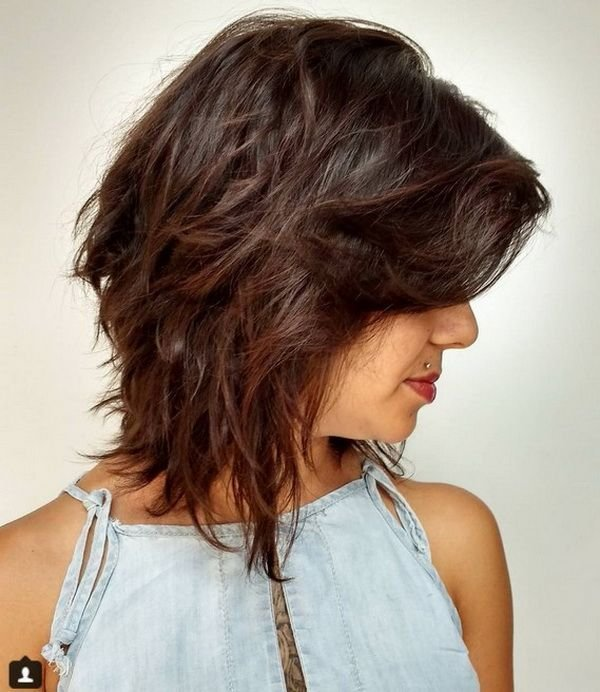 New Shaggy Medium Bob Haircuts 2018 2019 With Layers Ideas With Pictures