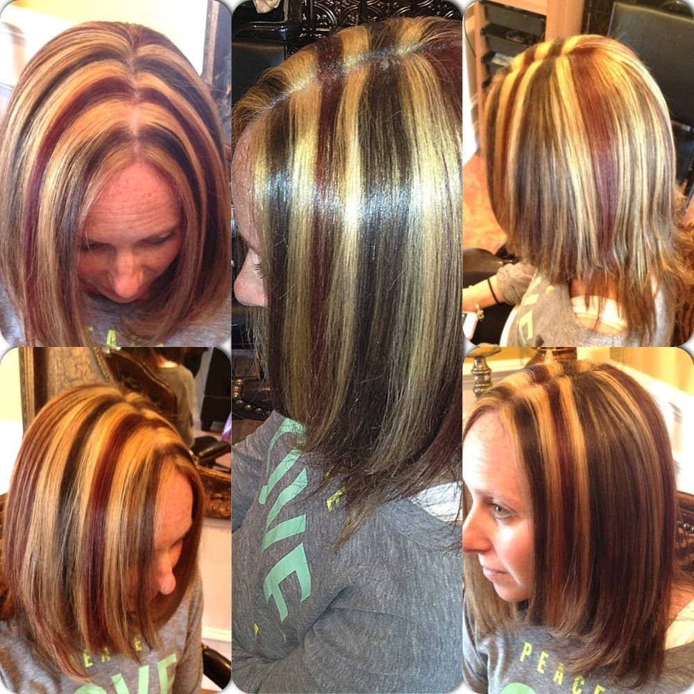 New 3 Colored Highlights Colorangel5 Hotmail Com Hair Hair Highlights Hair Colored Highlights Ideas With Pictures