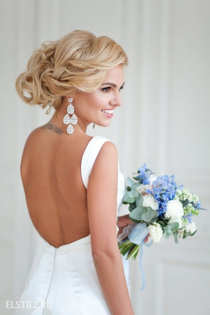 New Wedding Hairstyles With Backless Dress Hairstyles Ideas Ideas With Pictures