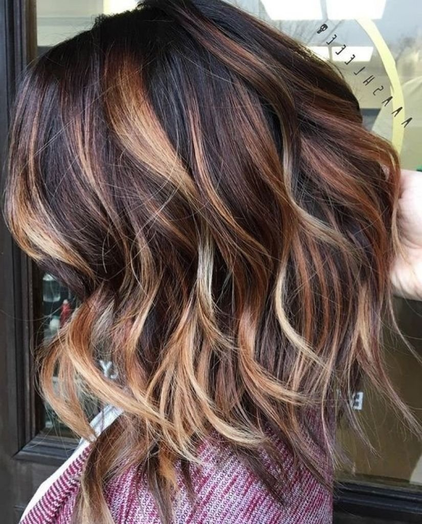 New Dark Brown Hair With Caramel Balayage 3D Hair Color Best Ideas With Pictures
