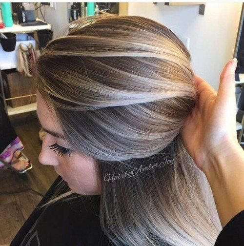 New Best Highlights To Cover Gray Hair Wow Com Image Ideas With Pictures