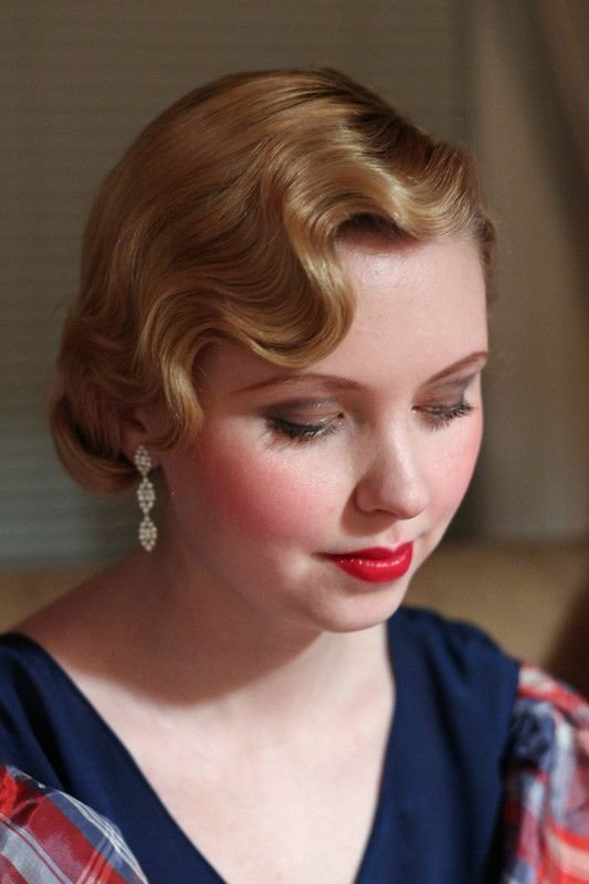 New Perfect Fingerwaves Perfect Make Up Johanna Is As Ideas With Pictures
