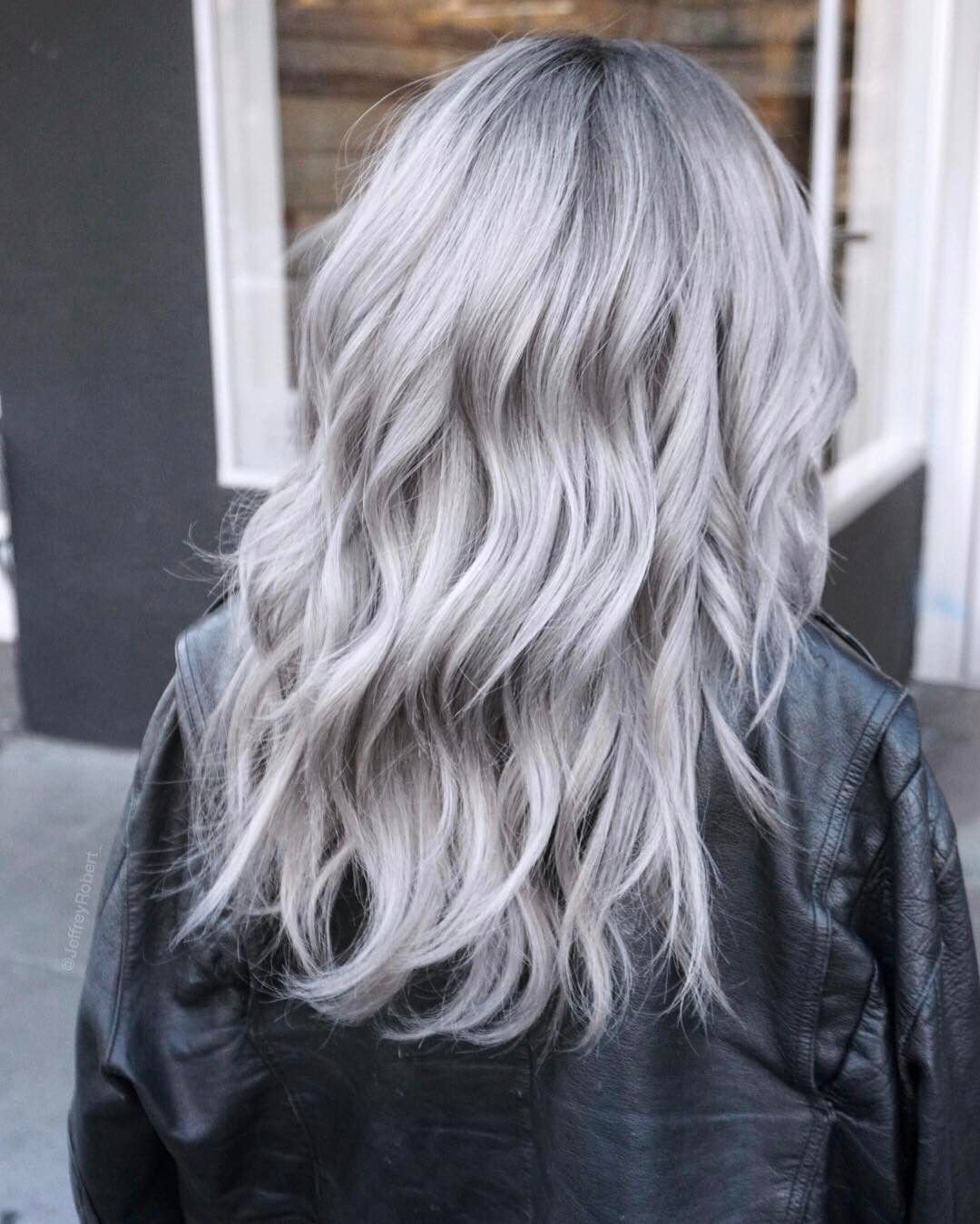New Icy Silver Hair Transformation Is The 2019'S Coolest Trend Ideas With Pictures