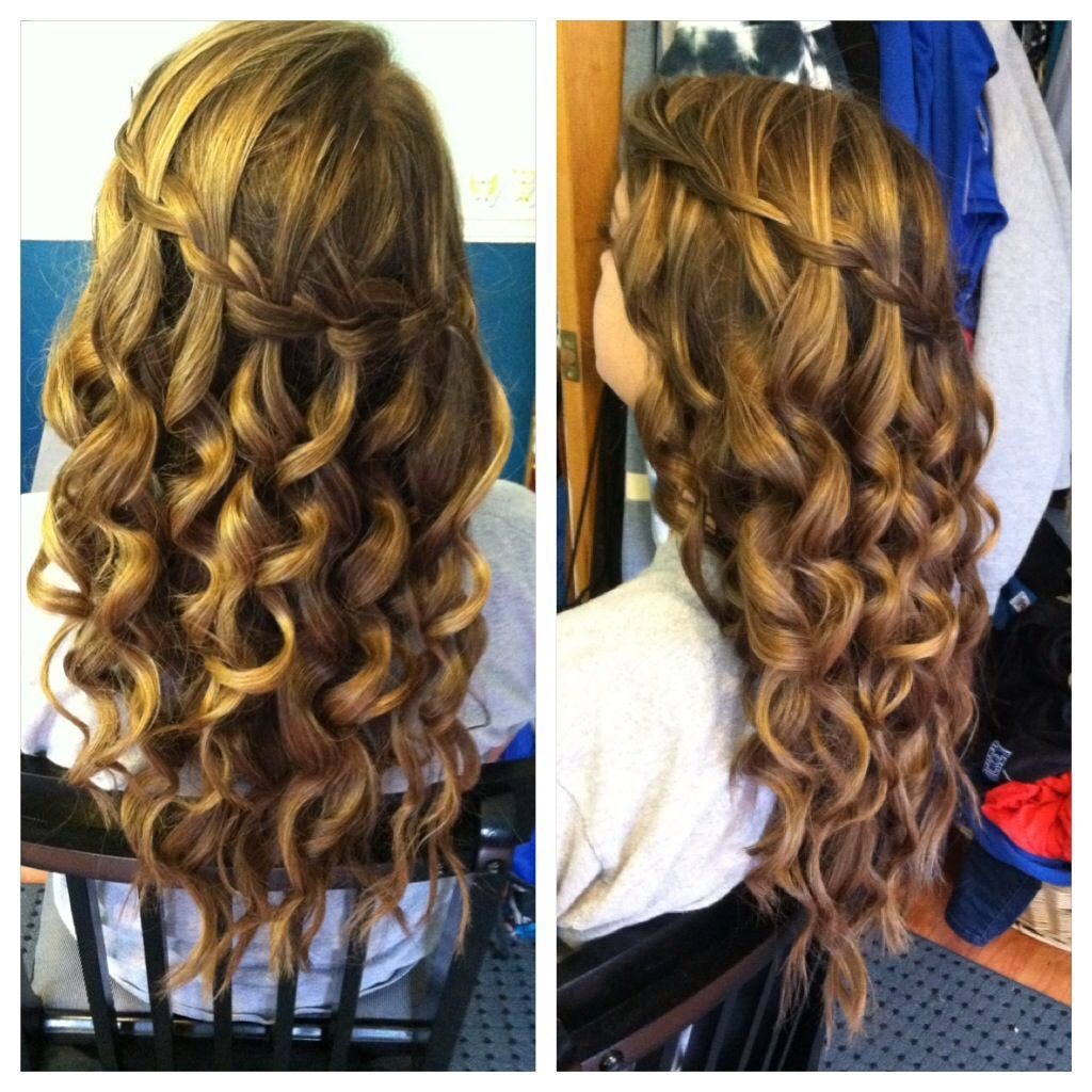 New Waterfall Braid Curing Wand Curls Hair And Beauty Ideas With Pictures