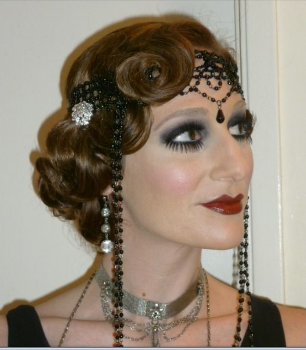 New 1920 S Hair And Make Up Love The Hair Eyes Are A Bit More Ideas With Pictures